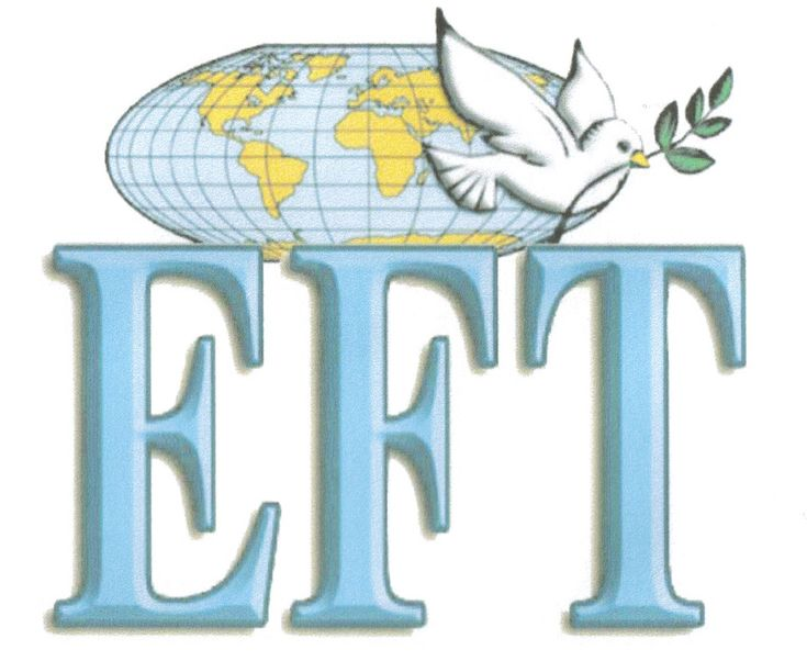 EFT (Emotional Freedom Technique) was developed by Gary Craig. His garythink.com website provides a FREE manual and tons of information and resources. Highly recommended. And of course I love that the peace dove is part of their logo!  Visit http://www.emofree.com/