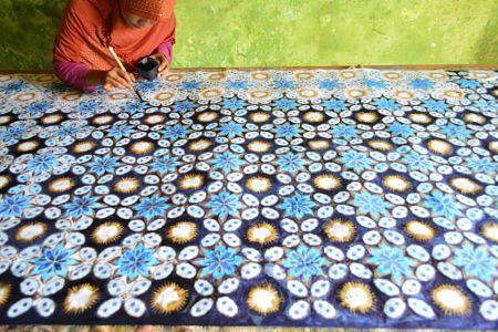 Batik Painting by Denny Djoko