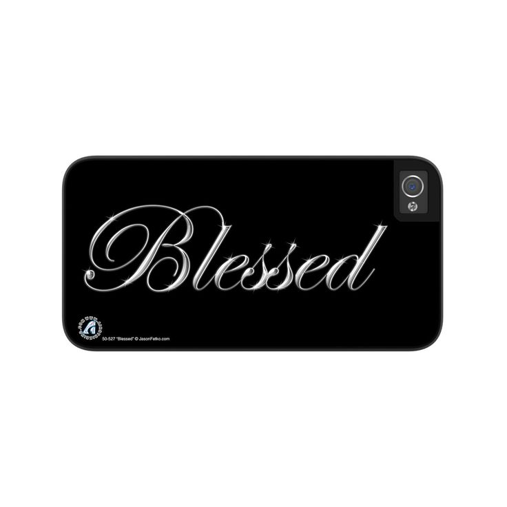 "Airstrike® ""Blessed"" Christian iPhone 5 Case, iPhone 5s Case Protective Phone Cases"