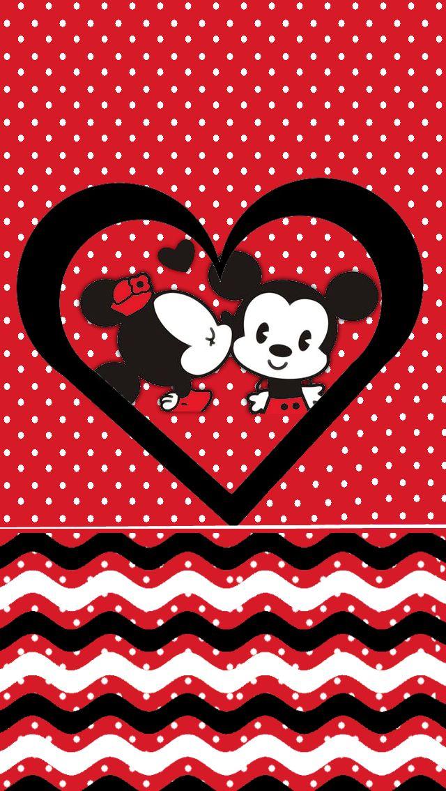 Minnie mickey love wallpaper m m pinterest love - Fondos de minnie mouse ...