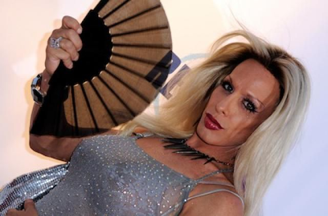 He was a beautiful man with a successful acting career in gay themed films: Alexis Arquette