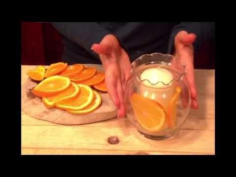 YesssFactor- Karácsonyi asztali díszek narancsból