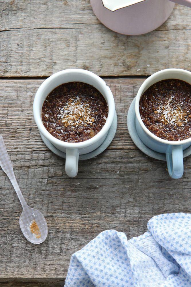 Crème de quinoa