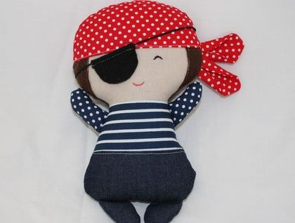 Tiny tot mini pirate doll - ready for adoption
