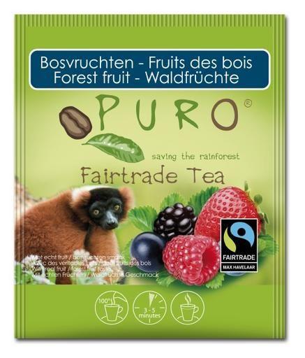 Ceai Puro cu fructe de padure