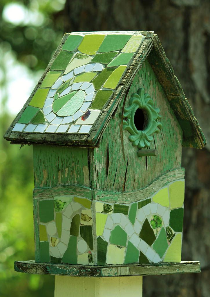 727 Best Bird Houses Images On Pinterest Rustic