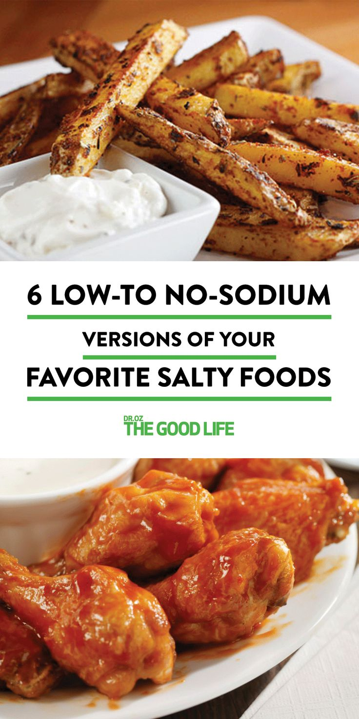 Salt make things taste so good, but too much of it makes our hearts feel so bad. Here is a round-up of healthified alternatives to your favorite salty foods.