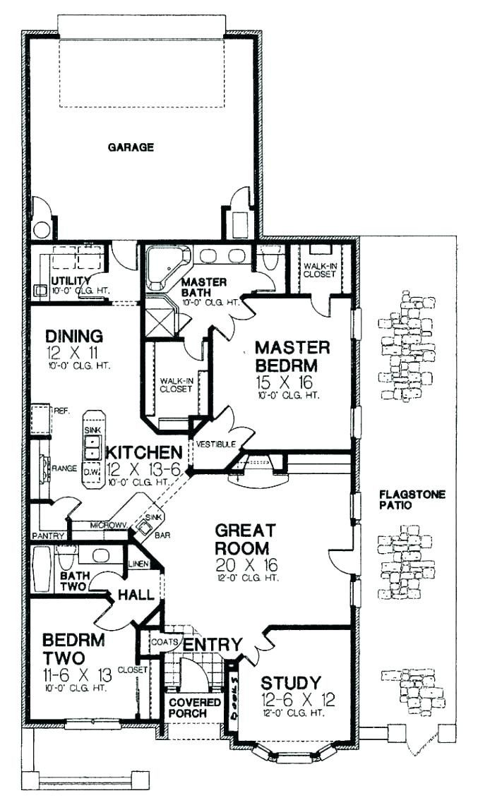 11 Fresh Narrow House Plans With Rear Garage Images Country Style House Plans Country Floor Plans Narrow Lot House Plans