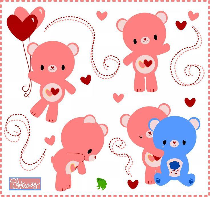 20 best care bear heartsong bear images on pinterest