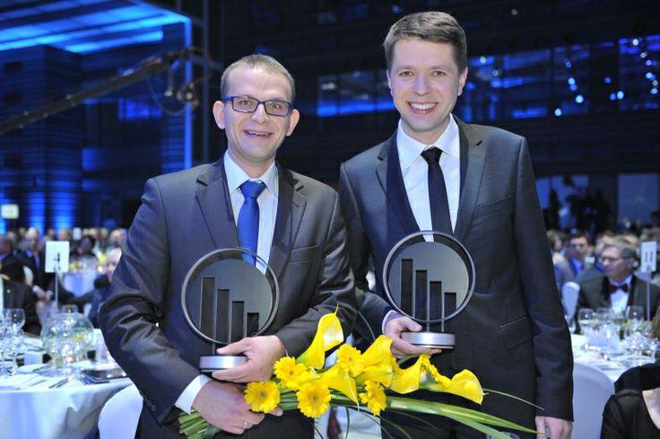 Michał Czekalski i Łukasz Olek, InternetowyKantor.pl. EY Entrepreneur Of The Year 2013 Poland