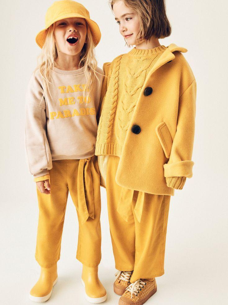 Image 1 De Sweat A Inscription De Zara Follow Our Pinterest Page At Deuxpardeuxkids For More Kidswear Modische Madchen Mode Fur Kleinkinder Kinderkleidung