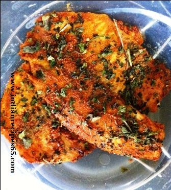 Indian Tilapia - goes great with Vegetable Korma & basmati rice