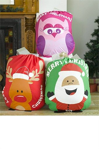 Christmas - Santa Sacks - EziBuy New Zealand