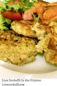 chicken carrot and fetta patties - Lisa Corduff