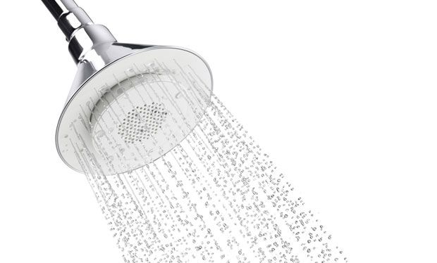 This is so cool! i want this! Wireless Speaker Shower Head by Kohler