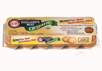Eggland's Best Organic Eggs, As Low As $0.99 at Kroger! with Sunday paper coupon through 1/12