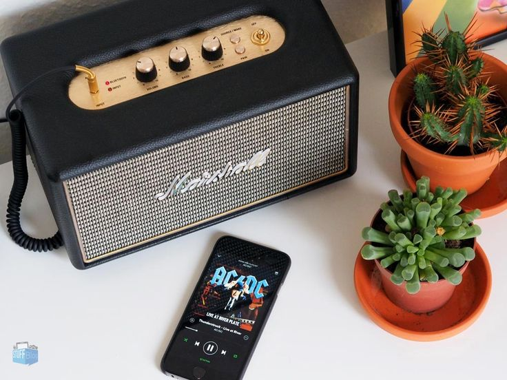 Marshall Acton Bluetooth Speaker - Review at stuffblog.de
