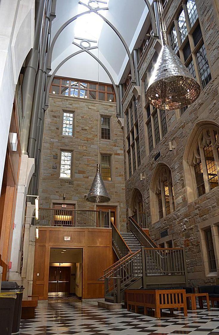 Explore the Boston College Campus in This Photo Tour: The Powers Atrium at Boston College