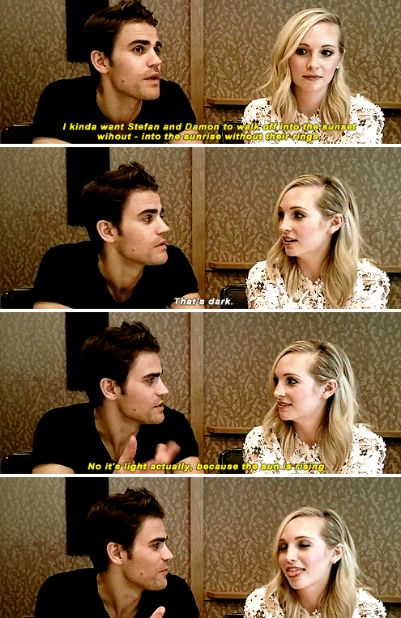 #Tvd cast at SDCC 2016 - Paul Wesley and Candice Accola