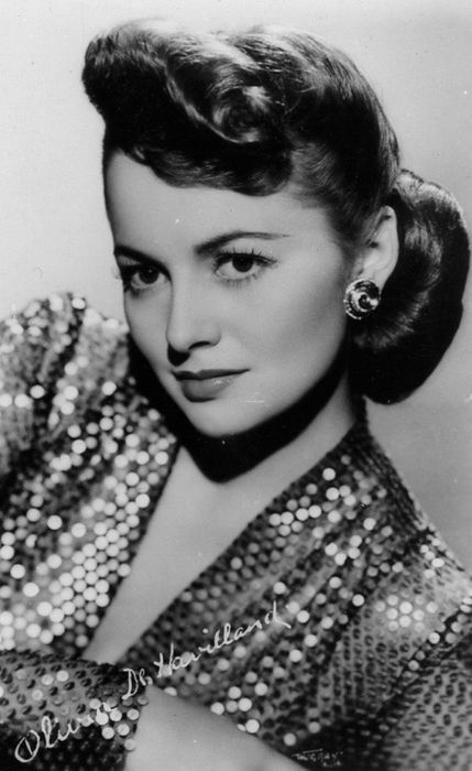Olivia de Havilland, Academy Award winner (1946 and 1949). Nominated for Best Actress in 1941 and 1948. For Best Supporting Actress in 1939
