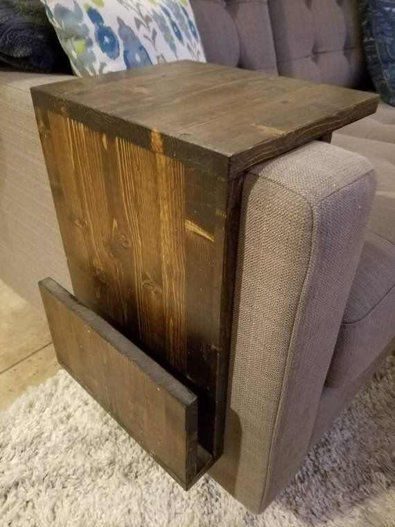 Arm Rest End Table Products In 2019 Sofa Table Decor