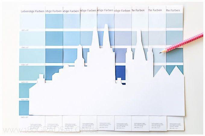 by 180° SalonDie Skyline Deiner Herzstadt mit Farbkarten. {Als Beispiel Hamburg und Köln} by 180° Salon