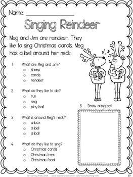 Singing reindeer anyone? FREE Christmas reading fun!