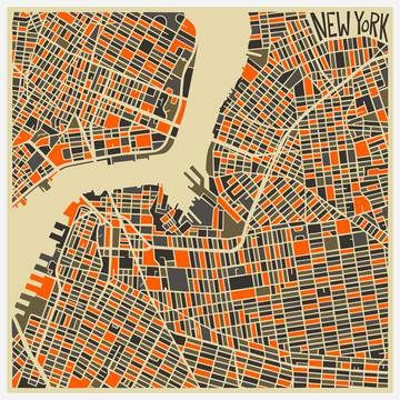 My design inspiration: New York Canvas Wrap on Fab.