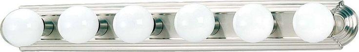 6 Light Bathroom Vanity Light