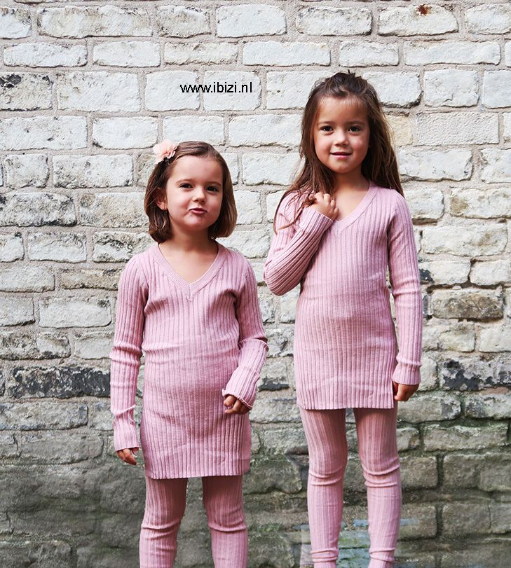 Ongekend Comfy Rib Setje - Roze   Kleding, Moeder dochter, Dochter PU-13