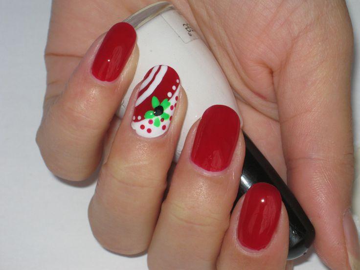 204 best thanksgiving christmas winter nail art video christmas winter holidays creative nail art tutorial prinsesfo Choice Image