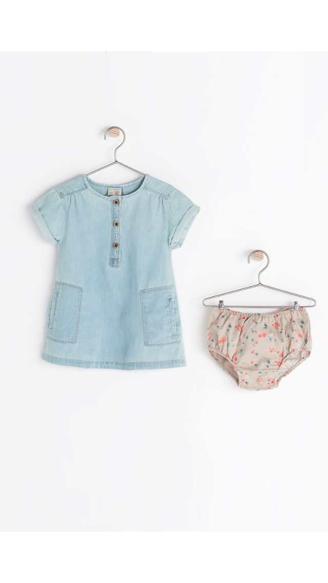 could extend the henley into a dress, add pockets, and make a pair of bloomers to match.