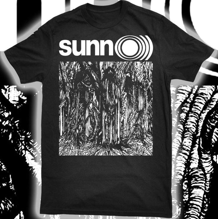 Sunn o))) doom black metal band mens tee shirt s m l xl 2xl new
