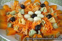 Salada de Cenoura e Tortellini » Receitas Saudáveis, Saladas » Guloso e Saudável