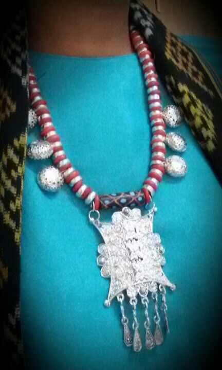 Indonesian Ethnic Jewelry: Silver Aceh's Gate by Wita Anggraini-Indonesia