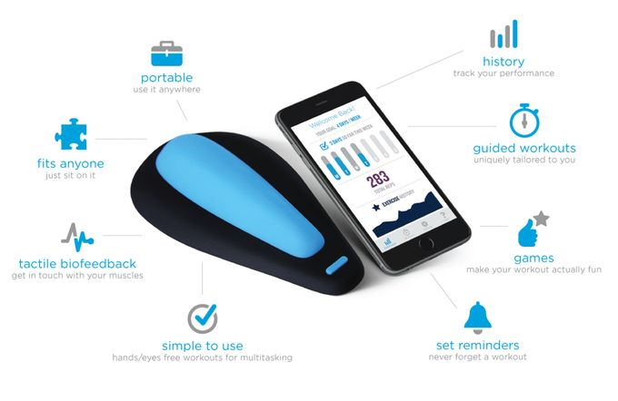 27.2M - kGoal Boost: Smart Kegels For Men by Minna Life — Kickstarter