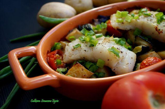 Cod with veggies