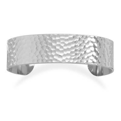 "3/4"" Hammered Fashion Cuff Bracelet Driscoll's Jewelry & Gifts. $19.25. Save 42%!"