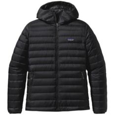 Patagonia - Down Sweater Hoody Negro Hombre