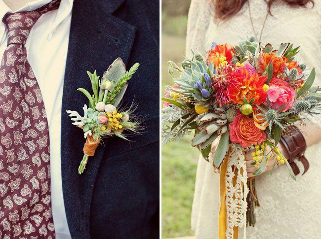 Bohemian Wedding Inspiration | Green Wedding Shoes Wedding Blog | Wedding Trends for Stylish + Creative Brides