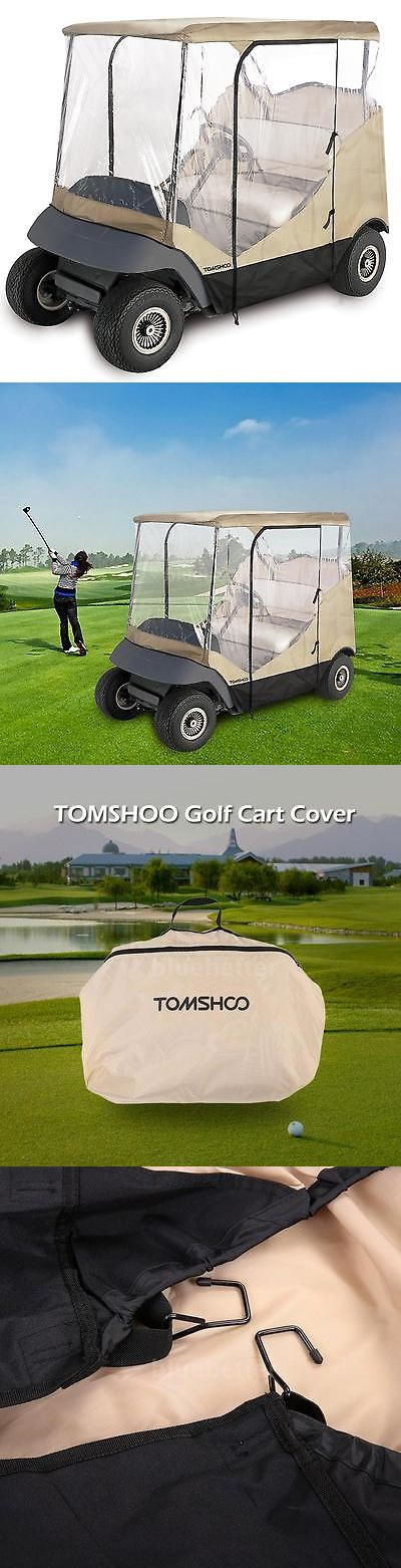 Other Golf Accessories 1514: Golf Cart 4 Sided Enclosure Club Car Ezgo Yamaha Cover Bb S5c3 -> BUY IT NOW ONLY: $42.5 on eBay!