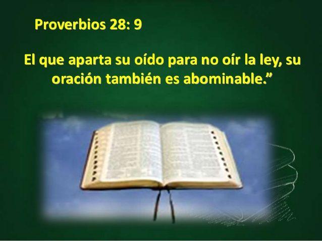 Para que se contesten nuestras oraciones, tenemos que obedecer a Dios. (Proverbios 28:9; Lamentaciones 3:8). Una razón por la cual Jehová retira su favor se declaró al antiguo Israel (Isaías 29:13). La misma razón aplica a la cristiandad hoy día.