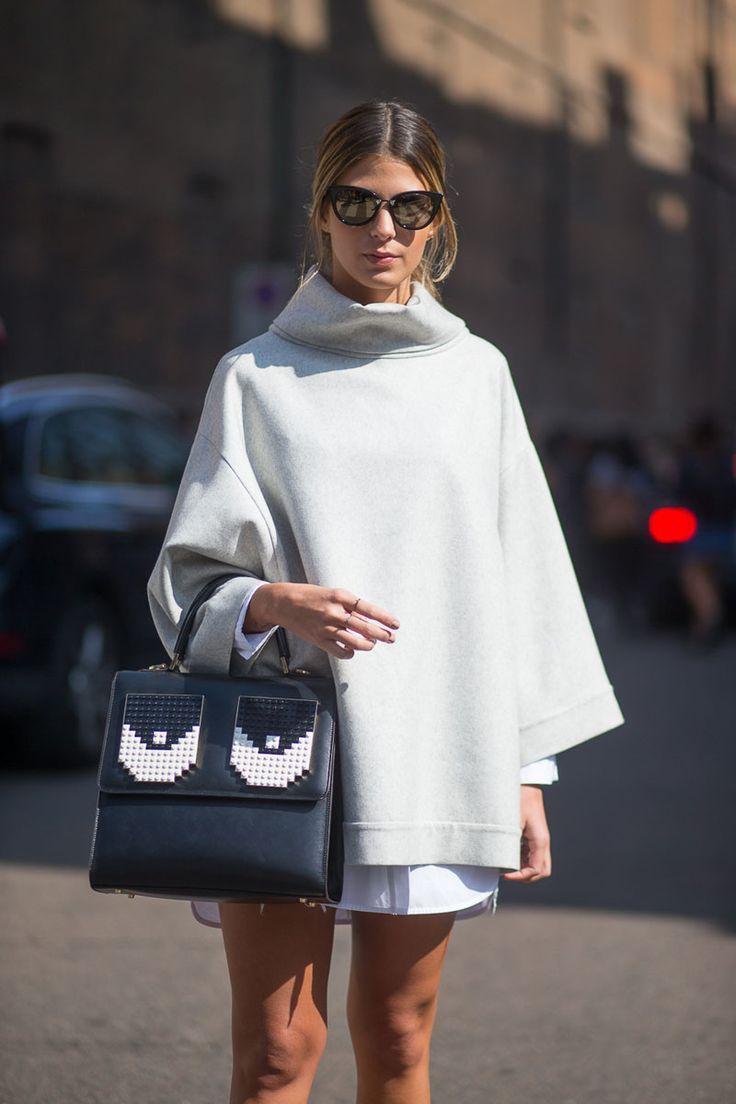 cape • street style / spring 2016 / milan fashion week #flatlay #flatlays #flatlayapp www.flat-lay.com