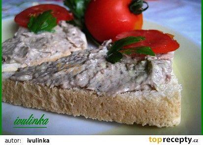 Rybičková pomazánka (original) recept - TopRecepty.cz