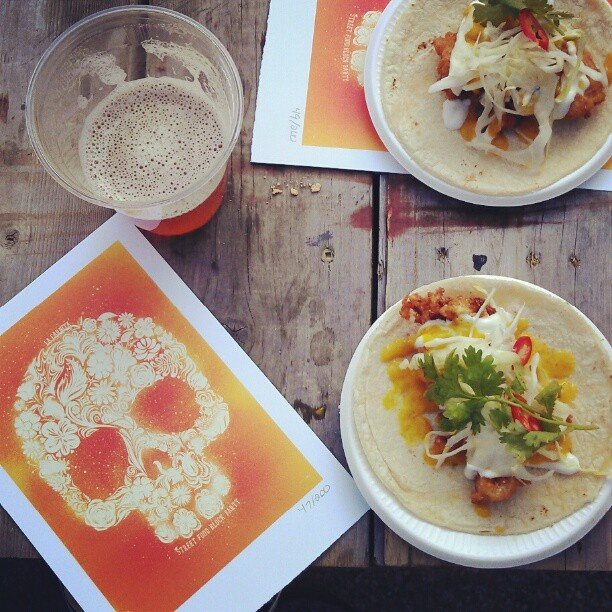 good beats + delish mexican street food.   La Carnita Toronto