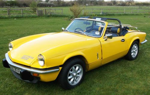eBay watch: 1970s Triumph Spitfire 1500 sports car