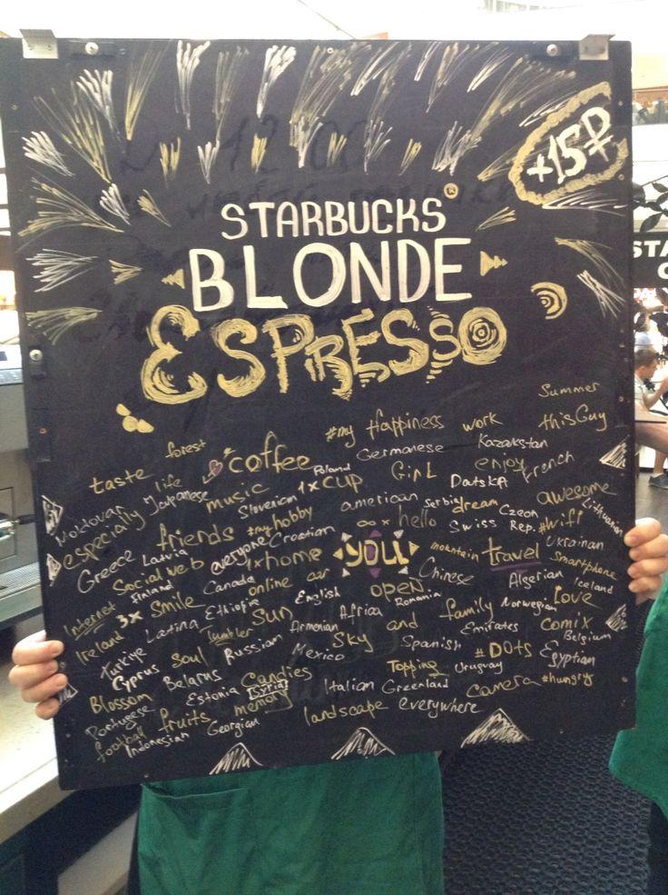 Starbucks Origin Blonde Espresso billboard. Author: Oleg Petrenko