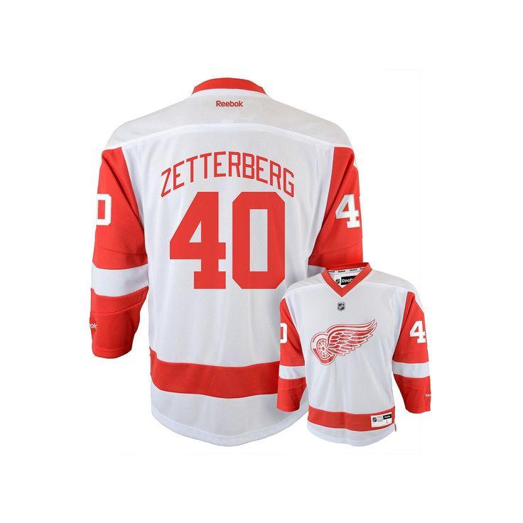 Reebok Detroit Red Wings Henrik Zetterberg NHL Jersey - Boys 8-20, Boy's, Size: L-Xl, Ovrfl Oth