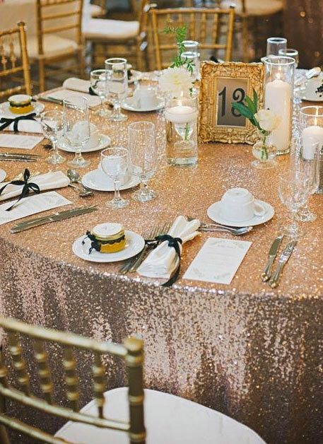 So excited to receive our order.   Sequin Tablecloth | Rentals Available | Wedding Decor | Glitz Tablecloth | Great Gatsby Wedding Decor | Wedding Tablecloth | Sparkle Wedding by SimplyTimelessEvents on Etsy https://www.etsy.com/transaction/1159430657