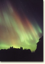 Northern Lights in Sault Ste Marie, Ontario - majestic